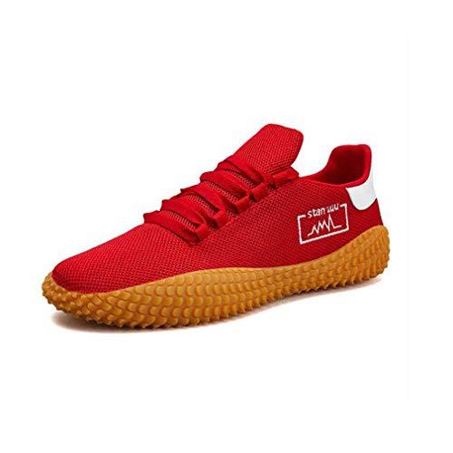 couleur cn40 Taille Mesh respirantes 5 Red Hommes Athlétiques Red De Décontractées confortables Ycsd Marche Pour Eu39 Chaussures uk6 q1fv7f