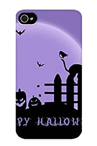 Quality Runandjump Case Cover With Halloweeneh Nice Appearance Compatible With Iphone 4/4s()