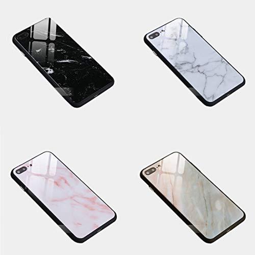 大理石ガラスケース 携帯ケース アイフォン8 アイフォンXS MAX アイフォンXR アイフォンX iPhone8 iPhoneXR iPhoneXS MAX iPhoneX iPhone8 iPhone7 強化 背面 ガラス 大理石 (iPhoneXR, PINK(ピンク))