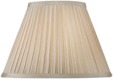 Oaks Lighting - Pantalla para lámpara (plisada, 30,5 cm), color beige