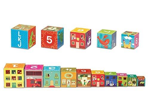 Cayro 873 - Kids Cubos Apilables (10 Pzas) (+1 Año): Amazon.es: Juguetes y juegos