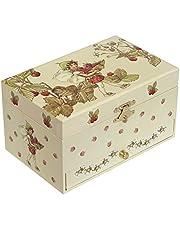 Trouselier – blomfairies – blomfairies – musikbox – Perfekt present till unga flickor – fosforescerande – lyser i mörkret – musik Mozarts magisk flöjt – färg grön