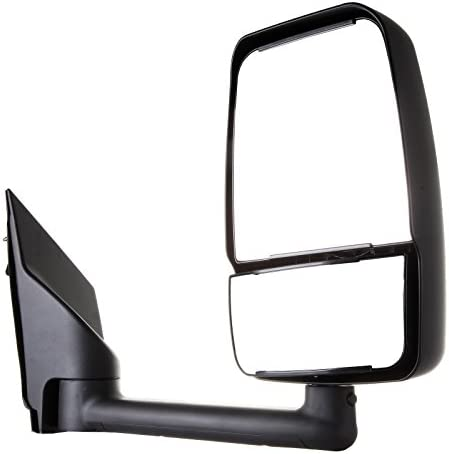 LSAILON Right Side Mirror Passenger Side Mirror Fits for 2003-2011 Chevy Express 1500 2500 3500 Gmc Savana 1500 2500 3500 Manually Fold Non-Heating GM1321426