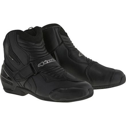 Alpinestars Smx 1 Riding Motorcycle - Alpinestars Men's SMX-1 R Black Boots 3401-0402