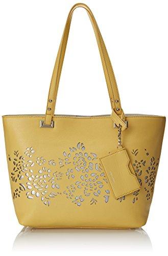 Nine West Ava Tote Shoulder Bag, New Light Lemon, One Size