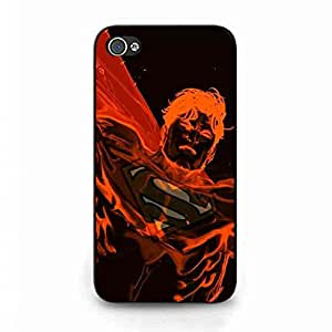 Apple iPhone 4(S) Personalized Phone Funda,DC Movies Batman v Superman: Dawn of Justice Plastic Protective Shell,Superman Cover Stylish Design Funda