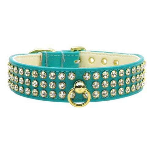 Mirage Pet Products No.73 Dog Collar, 10-Inch, Turquoise