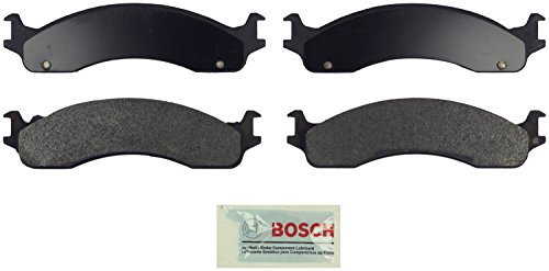 Bosch BE655 Blue Disc Brake Pad Set for Select Dodge Ram 2500/3500 Van; Ford E-250/Club Wagon/Econoline/Super Duty, F-250, F-350, F-450 Super Duty - FRONT & REAR