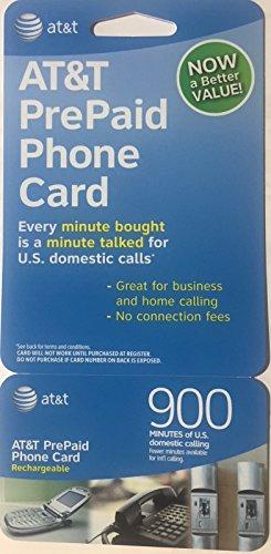 International Phone Cards - AT&T 900 Minute Prepaid Phone Card (Calling Card)