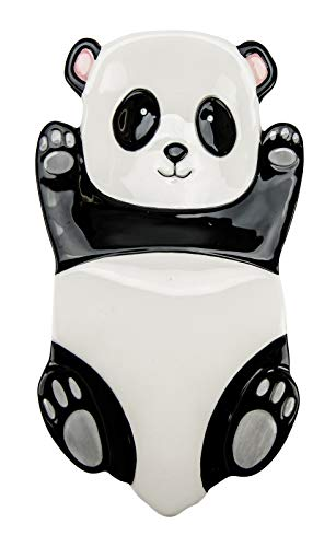 Boston Warehouse Panda Bear Kitchen Spoon Rest or Trinket Dish 9 Inches