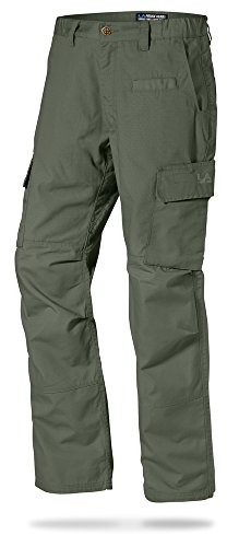 Police Green (LA Police Gear Urban Ops Tactical Pants OD Green 36 x)