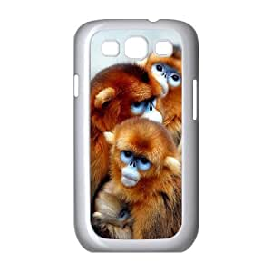 D-PAFD Phone Case Monkey Hard Back Case Cover For Samsung Galaxy S3 I9300