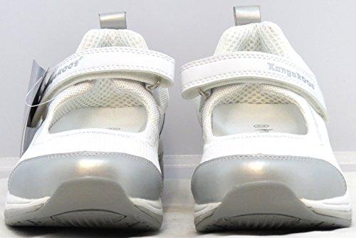 Kangaroos miranda pour chaussures miranda couleur :  blanc/argenté 68857041, ballerines femme-taille 41: