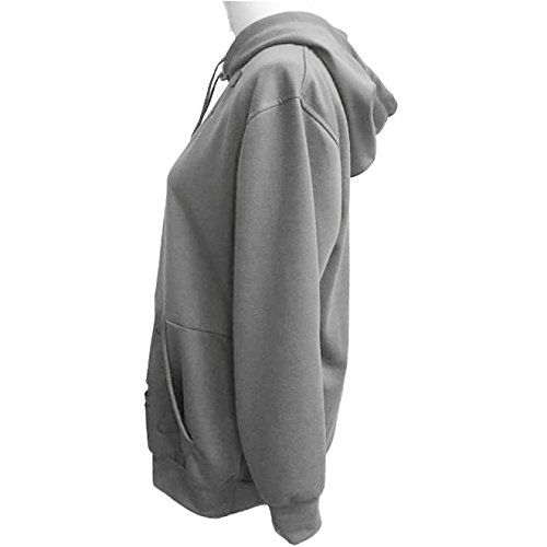 sweat longues Casual manches lache Tonsee Femme wvqXIx0