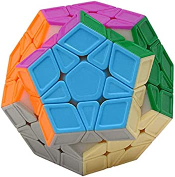 Lakshya India Stickerless Smooth Megaminx Cube