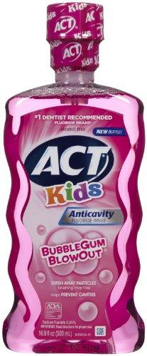 ACT Anti Cavity Rinse Bubblegum Blowout