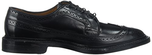Allen Edmonds Hombres Macneil Long Wing Tip Blucher Oxford Black Calf