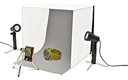 {Make Your Own Home Studio} Studio Photography Lighting Table Top Square Tent Kit Includes: 16\