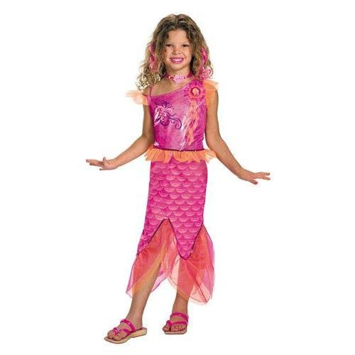[Barbie Merliah Deluxe Childrens Costume Small (4-6)] (Super Deluxe Mermaid Costumes)