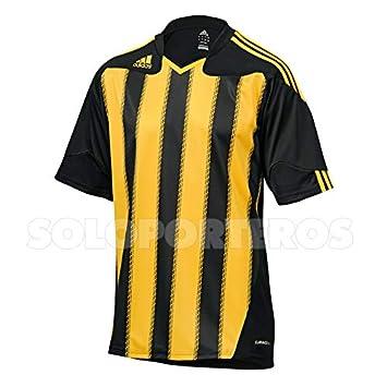 adidas Camiseta Stricon Negra-Amarilla Talla S: Amazon.es: Deportes y aire libre