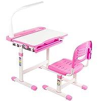 VIVO Height Adjustable Childrens Desk & Chair Kids Interactive Work Station (Multiple Colors)