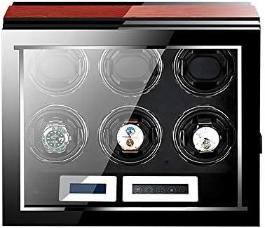 時計ワインダー6時計、超省電力サイレント回転、モーションモードの様々な反磁化の設計と LED ライト