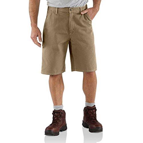 Carhartt Men's Canvas Utility Work Short,Golden (Carhartt Canvas Utility Work Shorts)