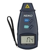 Neiko 20713A Digital Tachometer, Non-Contact Laser Photo 99, 999 Rpm Accuracy