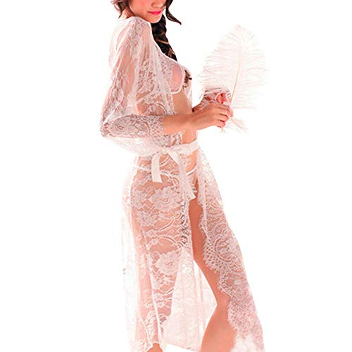 AMSKY Dresses Halloween,Women Boho Long Sleeve Long Maxi Evening Party Beach Dress Sundress,Fashion Hoodies & Sweatshirts,Green,XL -