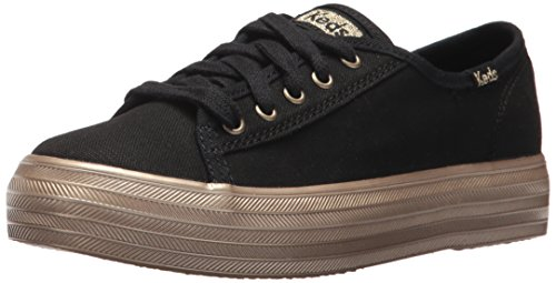 Keds Triple Kick Sneaker (Little Kid/Big Kid), Black, 3 M US Little Kid