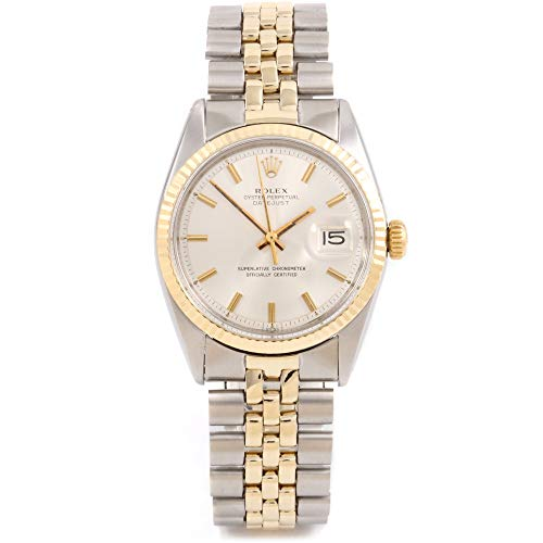 Rolex Datejust Automatic-self-Wind Male Watch 1601 (Certified Pre-Owned) (Best Pre Owned Watches)