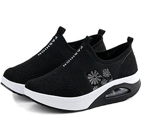 Schwarz donna Solshine Solshine 6 Sneaker Sneaker wO1qYnFIB