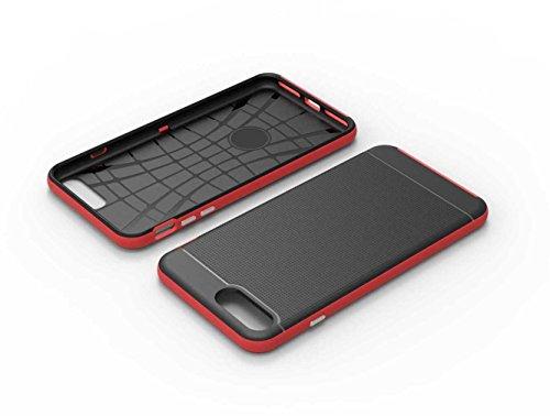 """5.5"""" iPhone 7 Plus Coque, AOFad Case Antidérapant Protection des lourds Mince rouge Plastique Hornet Accessoires Série Pour Femme Homme L186"""