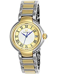 Technomarine Womens Sea Quartz Stainless Steel Casual Watch, Color:Two Tone (Model: TM-716008)