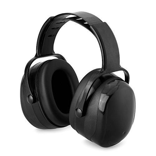 x-aegis Earmuffs Noise Cancelling Hearing Protection折りたたみヘッドフォンforハンティングシューティング B075NZ2MNM  Equipment energized (Black)