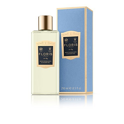 Floris London No.89 Moisturizing Bath and Shower Gel, 250 Gram (Floris Moisturizing Shower Gel)