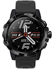 COROS VERTIX GPS Adventure Watch with Heart Rate Monitor, 60h Full GPS Battery, 24/7 Heart Rate Monitoring, Diamond-Like Coating Sapphire Glass, Touch Screen, Barometer (Dark Rock)