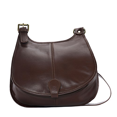 SALE Leather SALE MARRON Medium Skin Leather Bag MOYEN Full Bag AxRf0Y
