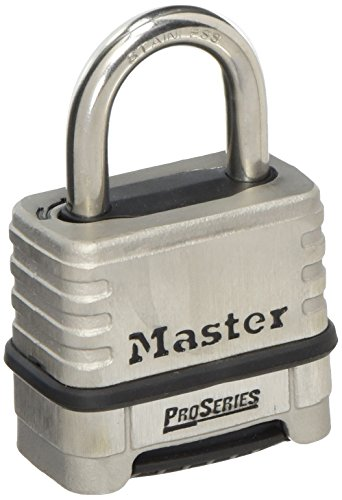 Master Lock Padlock, ProSeries Set Your Own Combination Lock, 2-1/4 in. Wide, 1174