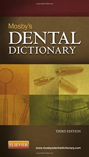 Mosby's Dental Dictionary, 3e