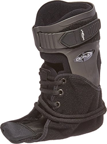 Donjoy 11-1498-4-06000 Velocity Ankle Brace, Extra Support, Right, Large, Black