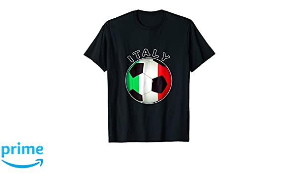 Amazon.com: Italian Soccer T Shirt- Camiseta De Futbol Italiano: Clothing