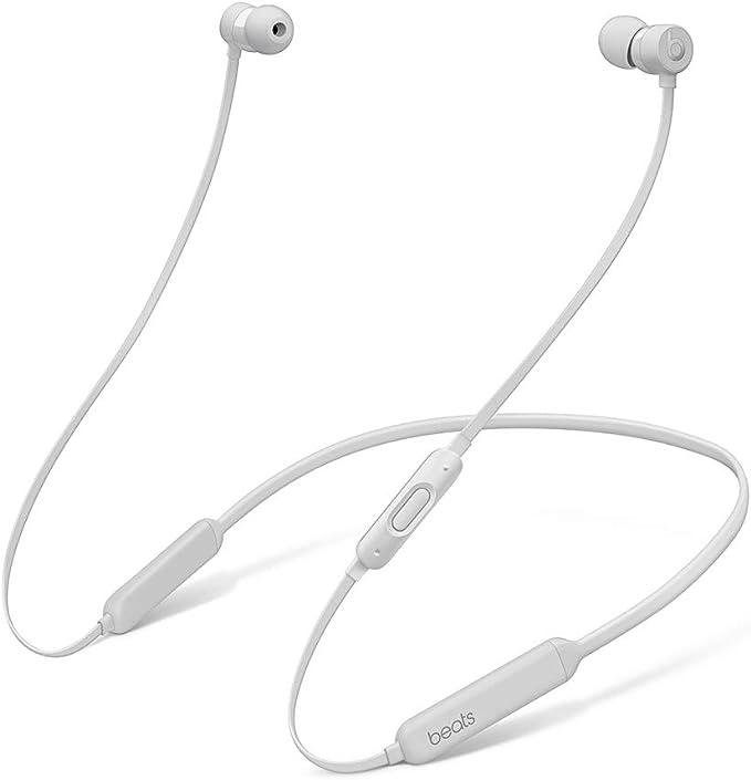 BeatsX ワイヤレスイヤホン-Apple W1ヘッドフォンチップ、Class 1 Bluetooth、マグネット式イヤーバッド、最長8時間の再生時間- サテンシルバー