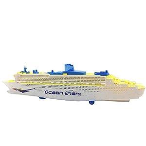 Amazoncom Toy Cruise Ship Children Electric Glowing Motor Yacht - Buying a cruise ship