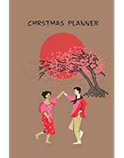 Christmas Planner: Journal With Gift List, Holiday Cards Tracker, Online Shopping Organizer, Meals Planner, Checklist and Calendar..