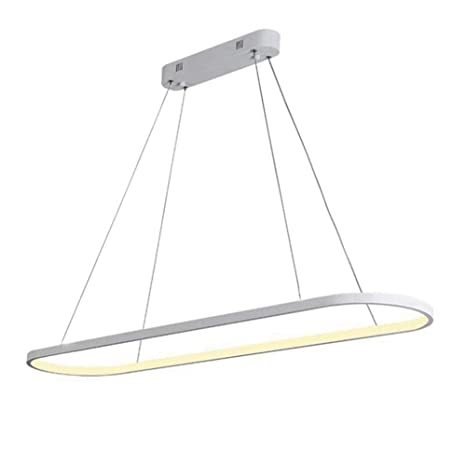 Amazon.com: Sxuefang Lámpara de araña elíptica de techo para ...