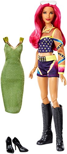 WWE Superstars Sasha Banks Fashion Doll