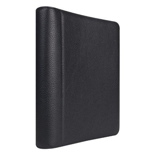 Monarch Franklin Leather Open Binder - Black