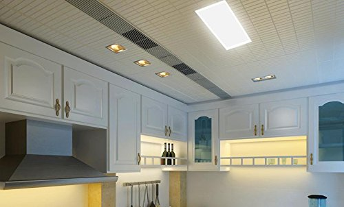 Olqmy di led allungata bagno cucina sigillo lampade da soffitto