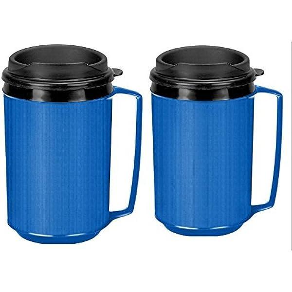Reusable Stainless Steel Insulated Thermal Travel Coffee Mug Flask 473ml Aladdin